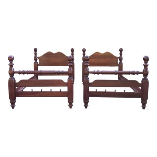 Pennsylvania House Solid Cherry Twin Beds- a Pair For Sale