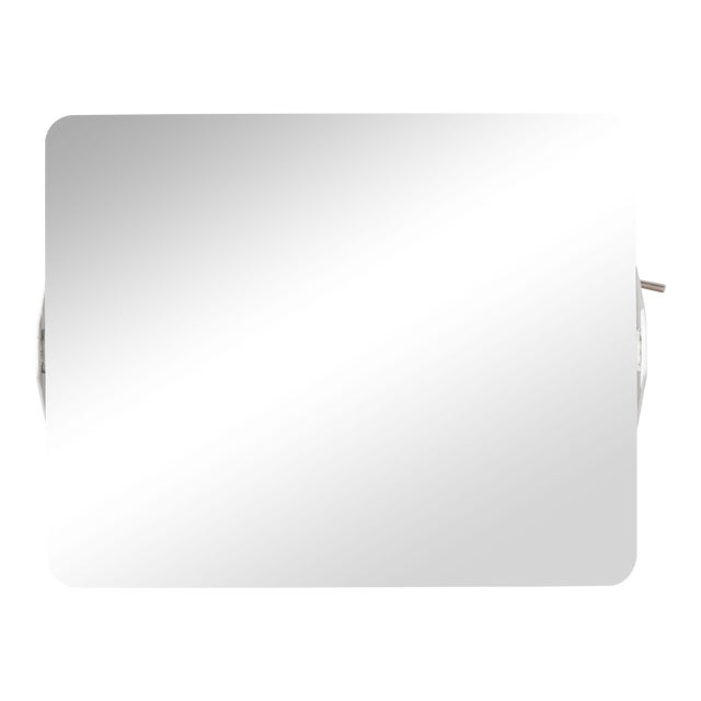 Charlotte Perriand Mirrored 'Applique á Volet Pivotant' Wall Lights For Sale