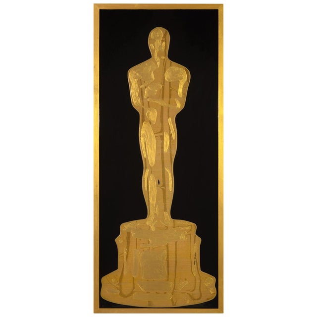 Golden Oscar by Mauro Oliveira For Sale