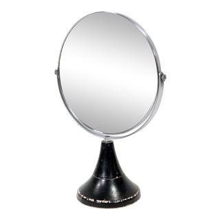 Mid Century Modern Vanity / Makeup Mirror For Sale