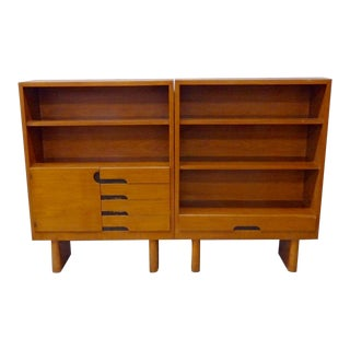 Rare Find Three Gilbert Rohde for Herman Miller Bookshelf Units For Sale