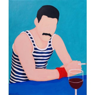 """Freddie 12"" Original Paintings by Marisa Añon For Sale"