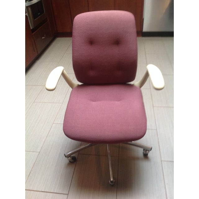 Mid-Century Steelcase Chrome Office Chair - Image 9 of 9