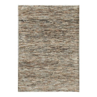Contemporary Hand Woven Rug - 4' X 5'7 For Sale