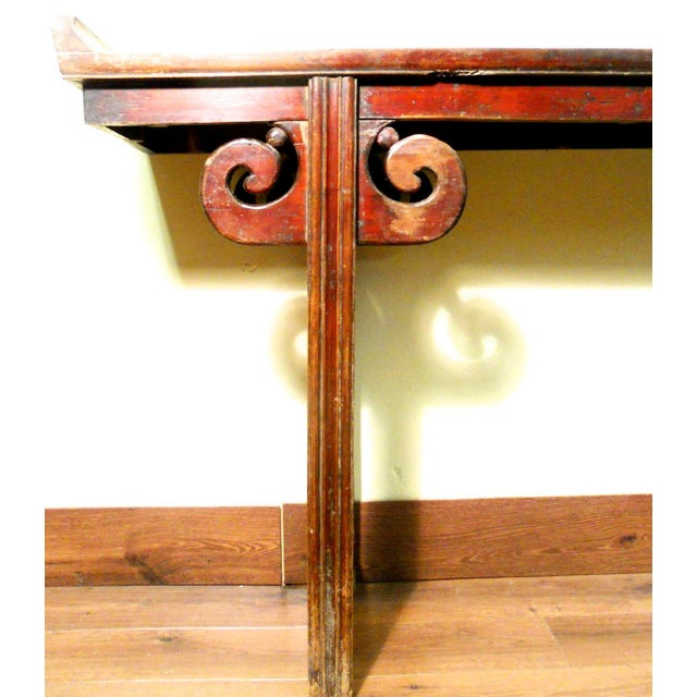 Antique Chinese Ming Altar Table, 1800-1849 For Sale - Image 4 of 11
