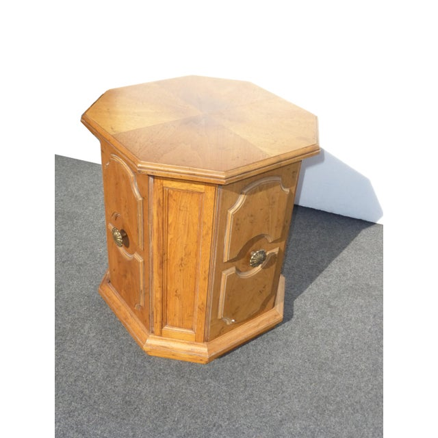 Wood 1960s Mid-Century Modern Drexel Heritage End Table For Sale - Image 7 of 9
