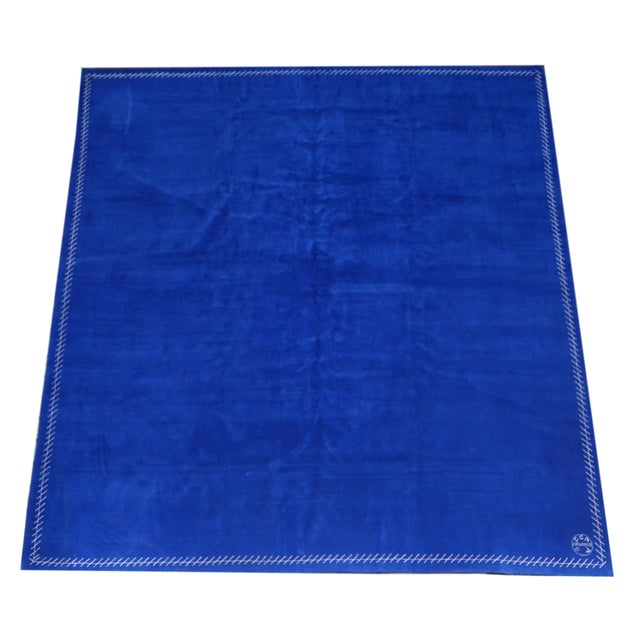 Boccara Limited Edition Artistic Rug Homage to Yves Klein Manufactured by Boccara Material: Wool with silk border Limited...
