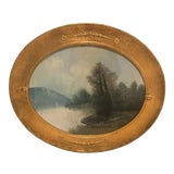 Image of Antique French Framed Print For Sale