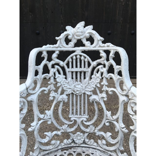 Mid 19th Century Robert Wood Foundry Cast Iron Seven-Piece Garden Set For Sale - Image 5 of 10