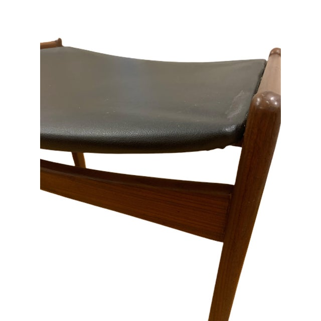 1960's Rare Danish Modern Footstool For Sale - Image 11 of 12