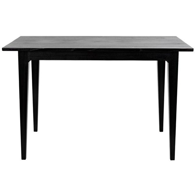 Contemporary Charcoal Black Daphne Writing Desk For Sale - Image 3 of 9