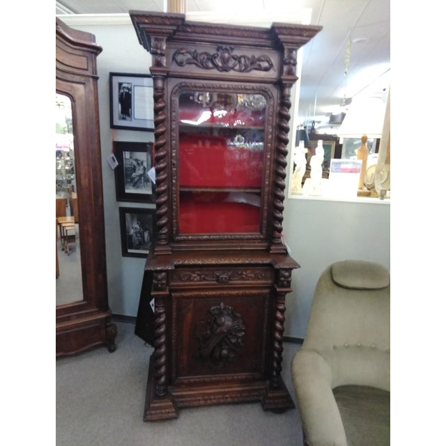 19th Century French Hunter's Cabinet/Bookcase For Sale - Image 13 of 13