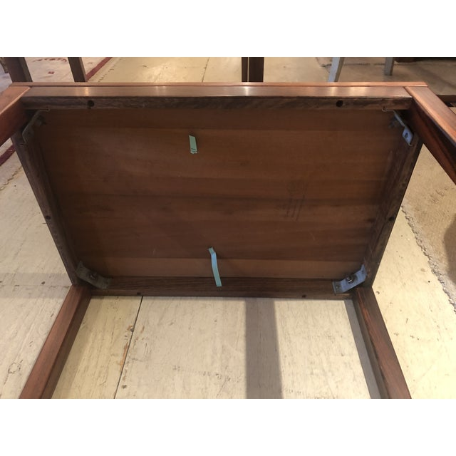 Mobelfabrick Danish Mid Century Modern Richly Grained End Tables - a Pair For Sale In Philadelphia - Image 6 of 13