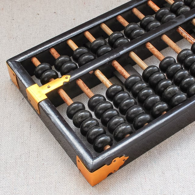 Vintage Chinese Wood Abacus - Image 4 of 6