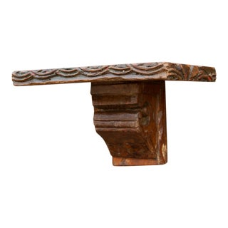 Antique Corbel Shelf For Sale