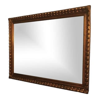 Mid 1900's Gold Gilt Mirror For Sale