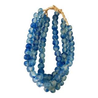 "Lg GlassTrading Beads Necklace 27"" H Set of 3 For Sale"