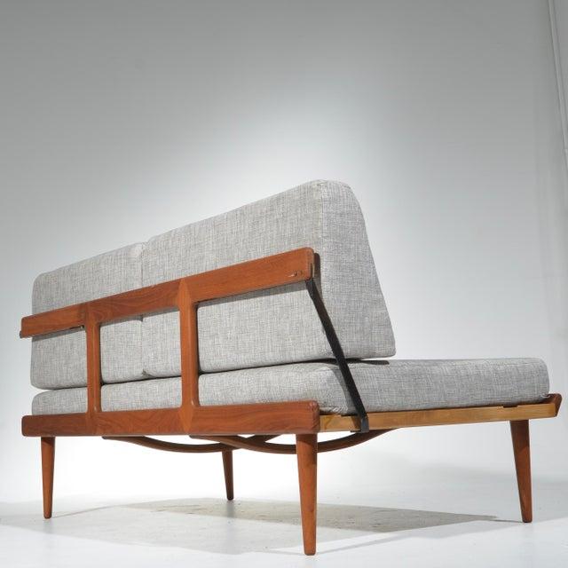 Teak Peter Hvidt & Orla Mølgaard-Nielsen Fd451 Daybed Living Room Set For Sale - Image 7 of 13