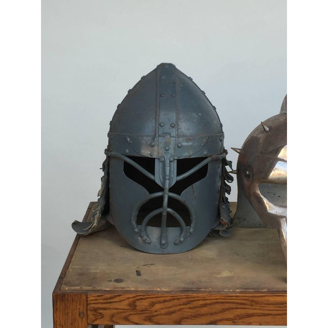 Industrial Decorative Collection of Three Movie Prop Masks For Sale - Image 3 of 6