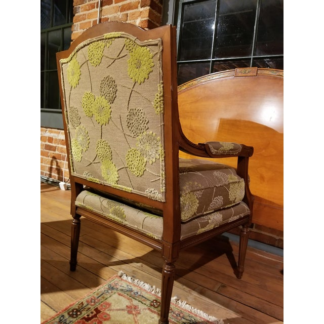 Late 20th Century Edward Ferrell Fauteuil From Waldorf Astoria New York For Sale - Image 5 of 11