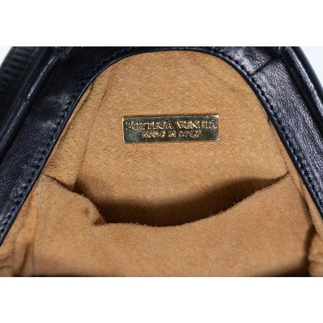 Leather Vintage Bottega Veneta Intrecciato Harlequin Shoulder Bag For Sale - Image 7 of 8