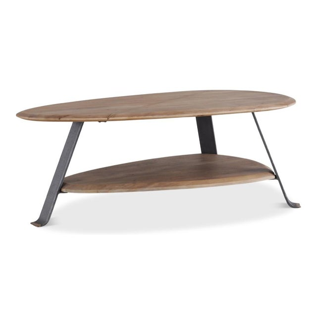 Tan Pebble Coffee Table For Sale - Image 8 of 8