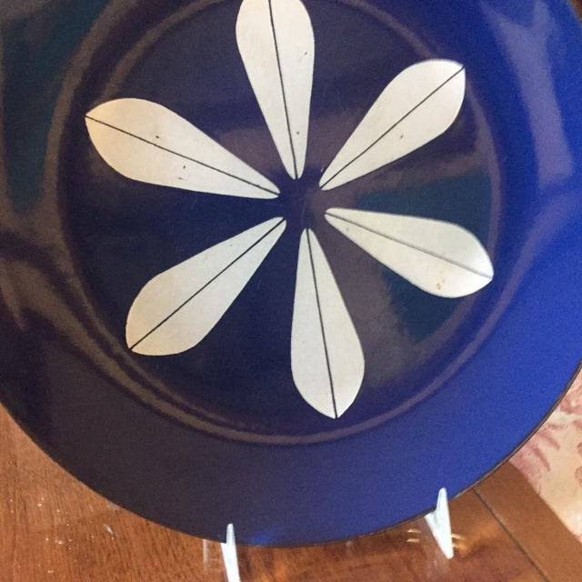 Catheineholm Blue Lotus Plates - Pair - Image 5 of 8
