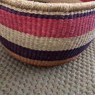 African Handmade Basket Preview
