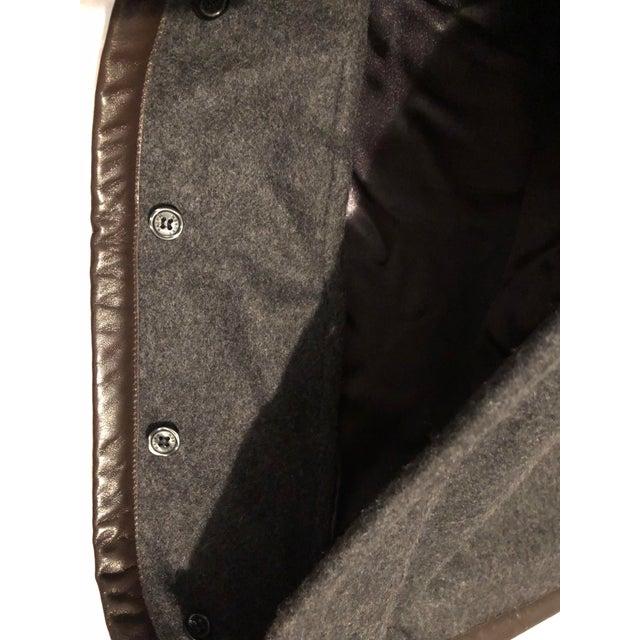 Ralph Lauren Cashmere & Leather Pillow Sham - Image 3 of 7