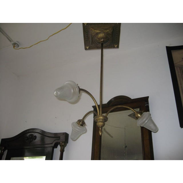 Liberty Italian Brass Chandelier - Image 4 of 5