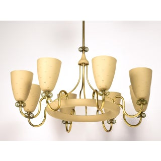 Paavo Tynell for Lightolier Eight Arm Chandelier, Circa 1950's Preview