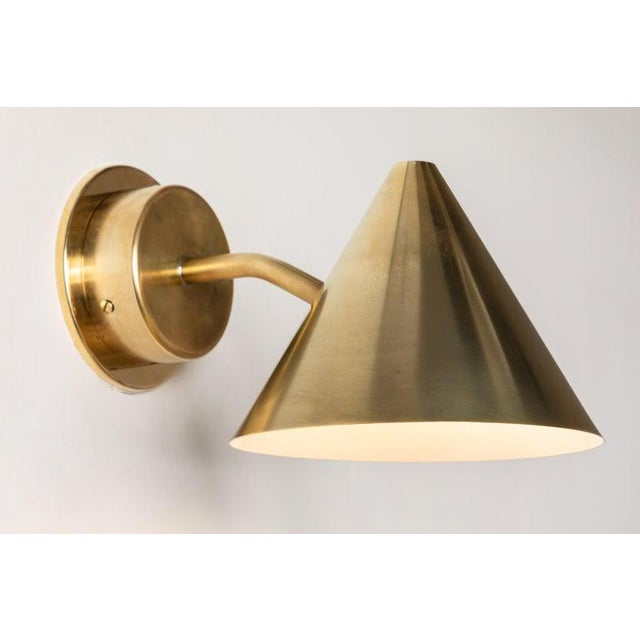 Hans-Agne Jakobsson 'Mini-Tratten' Polished Brass Outdoor Sconces - a Pair For Sale In Los Angeles - Image 6 of 13