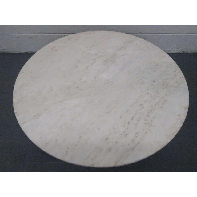 Edward Wormley for Dunbar Marble Top Coffee Table For Sale - Image 4 of 6