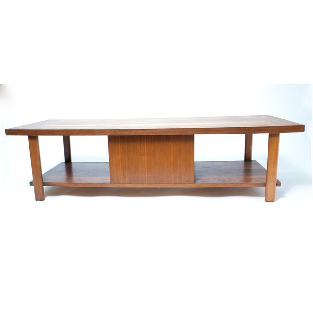 Lane Coffee Table with Sliding Door - Image 4 of 7