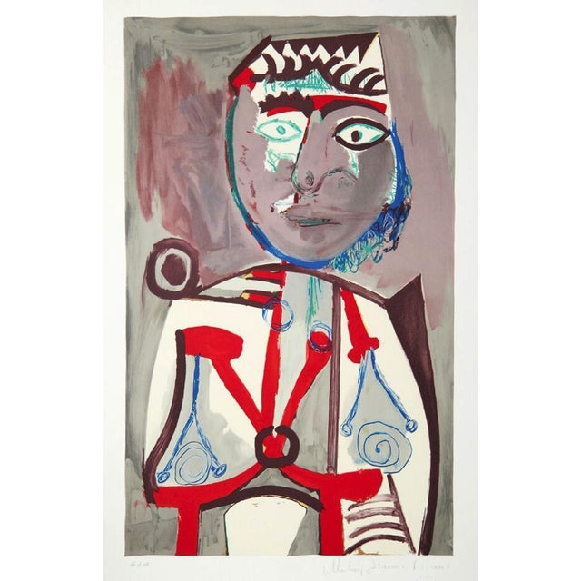 """Pablo Picasso, """"Personnage,"""" Lithograph For Sale"""