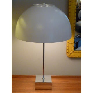 1960s Mid-Century Modern Paul Mayen for Habitat Large Domed Table Lamp Preview