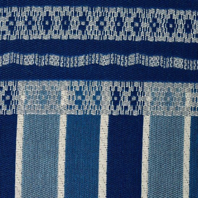Schumacher Schumacher Atchison Lumbar Pillow in Blue For Sale - Image 4 of 6