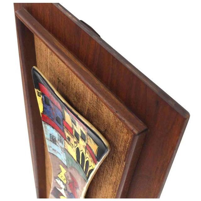 Set of Three Framed Art Tiles For Sale - Image 4 of 9