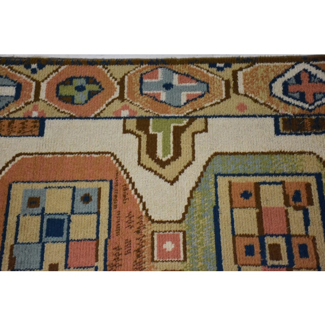 "Ege Axminster Abstract Danish Rug 79"" X 54"" For Sale In Boston - Image 6 of 12"