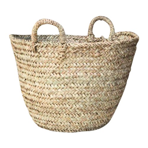 Moroccan Tote Basket - Image 1 of 6