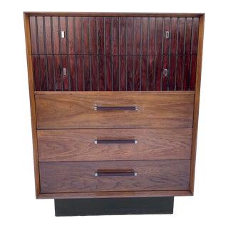 Mid-Century Highboy Dresser by Lane Furniture For Sale