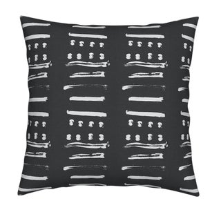 Kerri Rosenthal 14 Layers Reverse Carbon Pillow