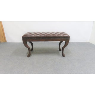 Neoclassical Theodore Alexander Chesterfield Bench Preview