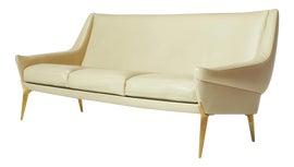 Image of Leather Settees