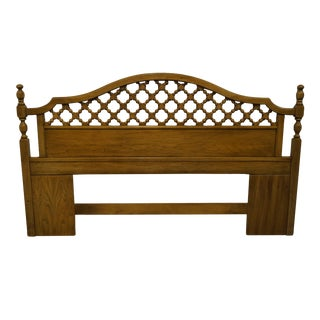 Thomasville Furniture Casa Linda Collection Mediterranean Style King Size Headboard For Sale