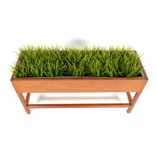 Danish Modern Teak Planter by Askel Kjersgaard For Sale - Image 7 of 8