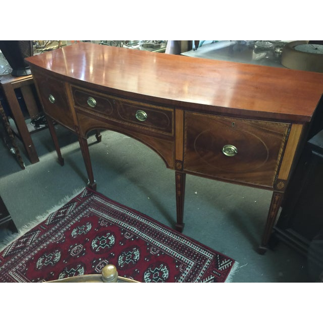 Early American Baker Furniture Sideboard Colonial Williamsburg For Sale - Image 3 of 10