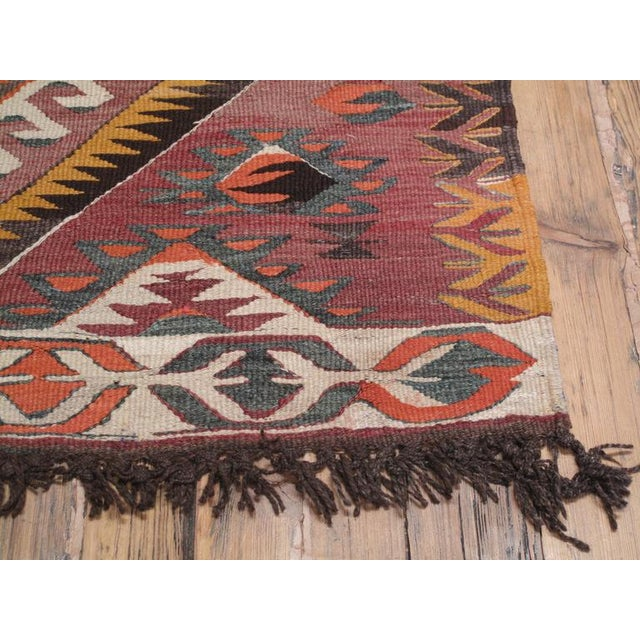 1960s Mut Kilim For Sale - Image 5 of 9