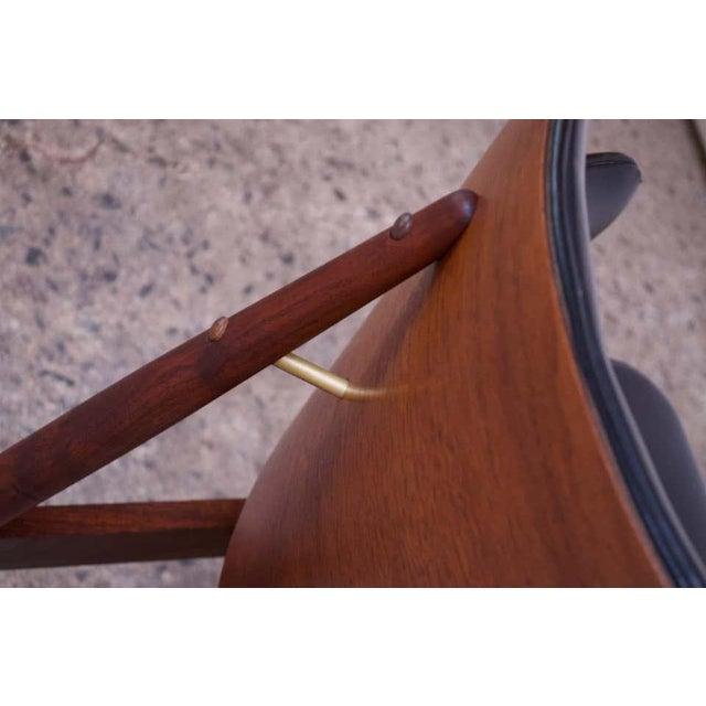 Seymour J. Wiener Walnut Lounge Chair for Kodawood For Sale - Image 10 of 13