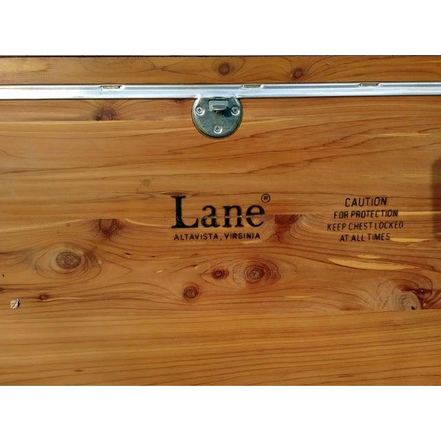 1970s Vintage Lane Mahogany Cedar Blanket Chest For Sale - Image 11 of 13